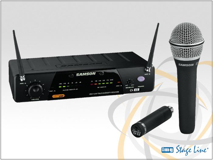 SAMSON-AL77HH-UHF-Funkmikrofonanlage-mit-Handsender