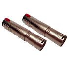 2er Set deetech Adapter XLR male auf 6,3mm Klinkenbuchse