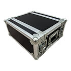 deetech 4 HE - Profi Flightcase / Rack Short Double Door 9 mm, High Quality