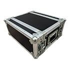 deetech 4 HE - Profi Flightcase / Rack Short Double Door 9 mm, High Quality