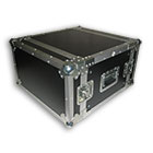 deetech 6 HE - Profi Flightcase / Rack Double Door 9mm, High Quality