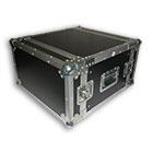 deetech 6 HE - Profi Flightcase / Rack Double Door 9mm, High Quality