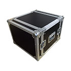 deetech 8 HE - Profi Flightcase / Rack Double Door 9mm, High Quality