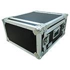 deetech Profi - DJ-Winkelcase 4/9 HE aufstellbare Rackschiene, 9mm, High Quality