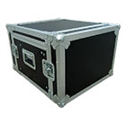 deetech Profi - DJ-Winkelcase 6/9 HE aufstellbare Rackschiene, 9mm, High Quality