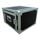 deetech Profi - DJ-Winkelcase 8/9 HE aufstellbare Rackschiene, 9mm, High Quality