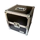 deetech LP02 - Profi Schallplatten-/LP-Flightcase,ca. 75 Platten, verschließbar