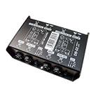 deetech DB-02 - Di-Box Stereo passiv, 2-Kanal (XLR / Klinkenanschlüsse)