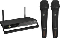 IMG Stageline TXS-2402SET W-LAN - 2,4 GHz digitales, drahtloses 2-Kanal Mikrofonsystem