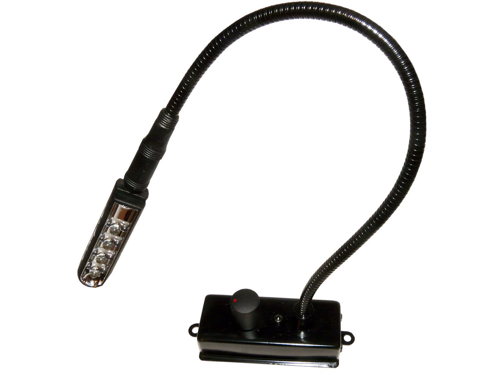 led schwanenhalslampe dimmbar f r mischpulte jl 908. Black Bedroom Furniture Sets. Home Design Ideas